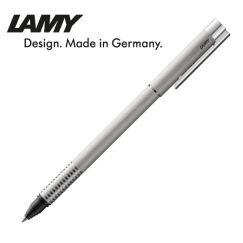 Bút bi xoay cao cấp Lamy logo brushed màu bạc 306
