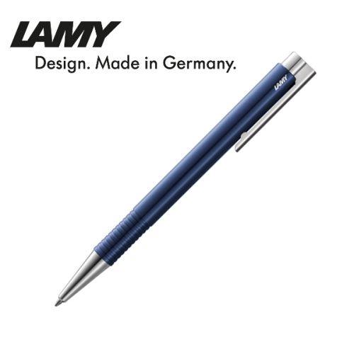 Bút bi cao cấp hiệu Lamy Logo M+ màu xanh dương 204