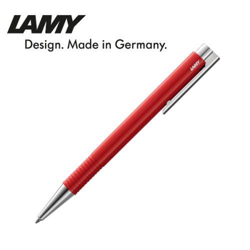 Bút bi cao cấp hiệu Lamy logo M+ màu đỏ 204