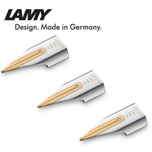 Ngòi bút Lamy cao cấp bằng vàng 14k với nhiều kích cỡ