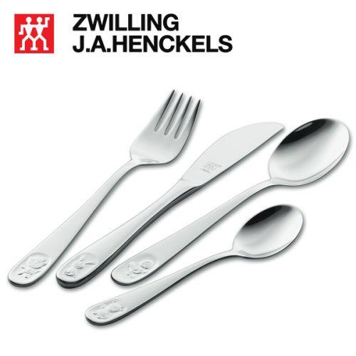 Bộ muỗng nĩa trẻ em hiệu Zwilling 07009-210, 4 món