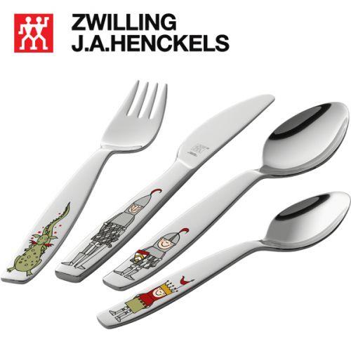 Bộ muỗng nĩa 4 cái cho trẻ em Eckbert hiệu Zwilling 07132-210
