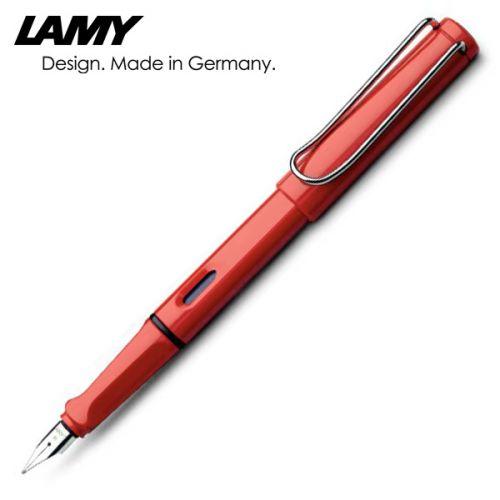 Lamy - Bút mực Safari màu đỏ, ngòi F