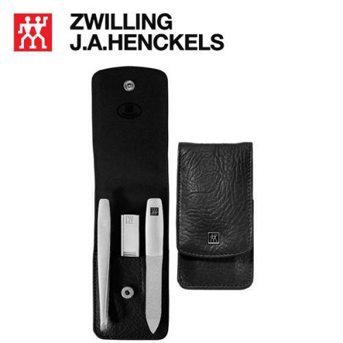 Bộ dụng cụ cắt móng tay 3 món màu đen Zwilling 97548-004
