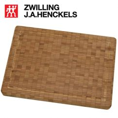 Thớt gỗ tre cỡ vừa với kích thước 36x25.5x3 cm hiệu Zwilling 30772-100