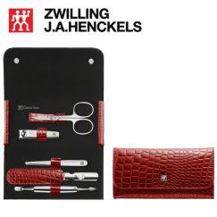 Bộ bấm móng tay 5 món màu đỏ thương hiệu Zwilling 97655-003