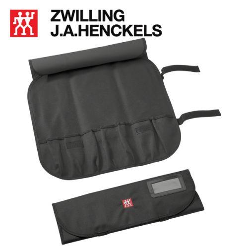 Túi đựng dao bếp 7 món hiệu Zwilling 35001-600, màu đen