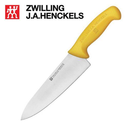 Dao đầu bếp thương hiệu Zwilling 32108-250, dài 24cm cán màu vàng