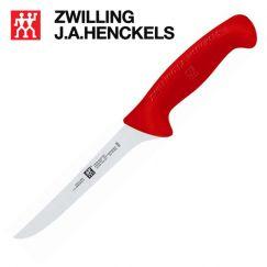 Dao bếp lóc xương hiệu Zwilling 32100-163, lưỡi dài 15cm cán màu đỏ