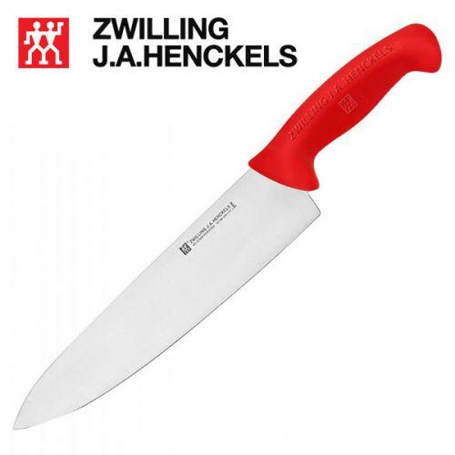 Dao bếp chuyên dụng Zwilling 32108-253, lưỡi dao dài 24cm cán màu đỏ