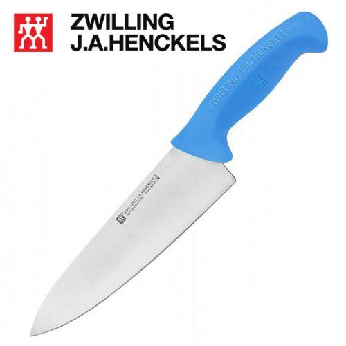 Dao bếp chuyên nghiệp Zwilling 32108-204, lưỡi dài 20cm cán màu xanh dương