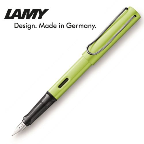 Bút mực Lamy 052 FP Al-star charged green M