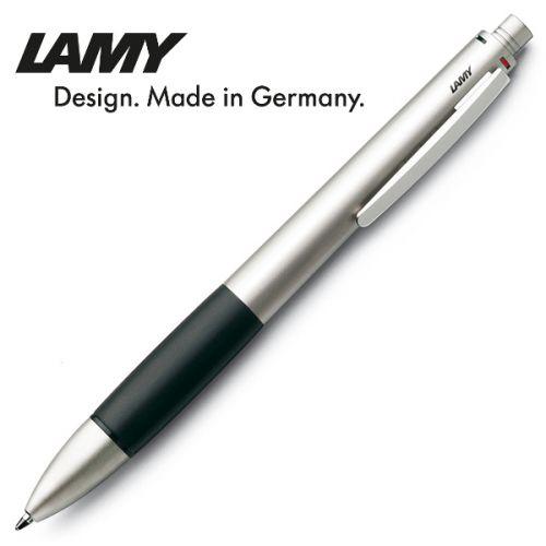 Lamy - Bút bi cao cấp Accent 4 ngòi màu bạc