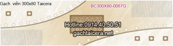 Gạch viền Taicera 30x80 BC0067G