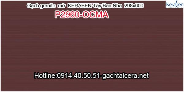 Gạch granite mờ ốp lát Keraben P2960 OCMA