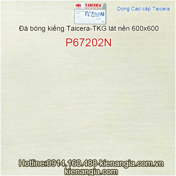 Đá bóng kiếng cao cấp Taicera-TKG 600x600-P67202N