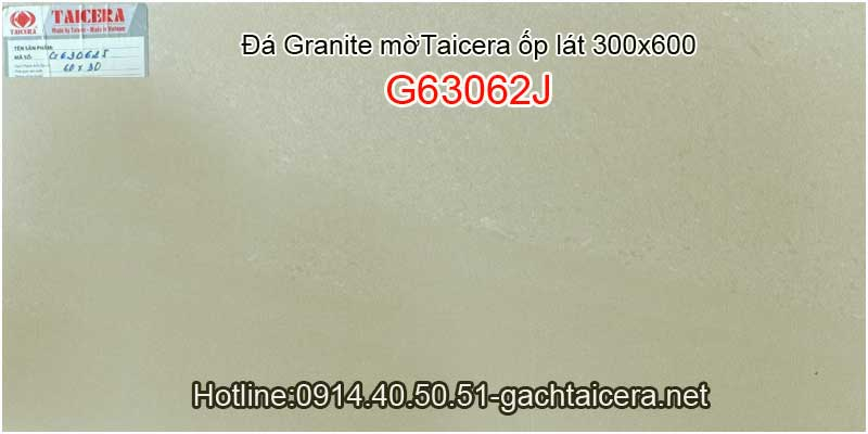 Đá granite mờ cao cấp ốp lát TAICERA-TKG 30x60 G63062J