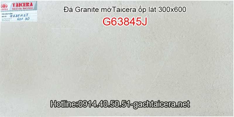 Đá granite mờ cao cấp ốp lát TAICERA-TKG 30x60 G63845J