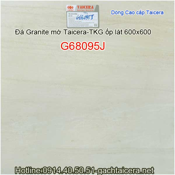 Đá granite mờ cao cấp ốp lát TAICERA-TKG 60x60 G68095J