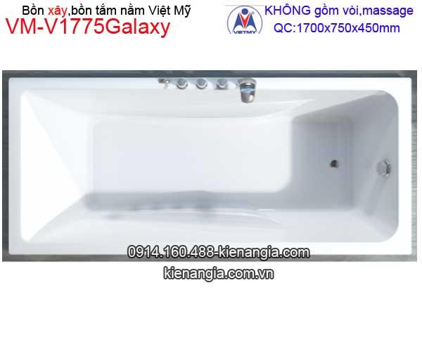 Bồn tắm nằm xây Galaxy Việt Mỹ VM-V1775Galaxy