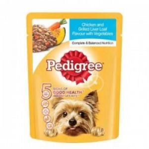 Pedigree - Sốt chó lớn vị gà , gan nướng & rau