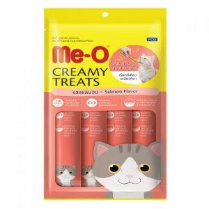 Me-O - Creamy Treats Samon Flavor 60gm