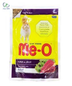 Pate Me-O Thức Ăn Cho Mèo Vị Cá Ngừ 80g