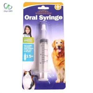 Dụng cụ bơm thuốc và sữa cho chó con
