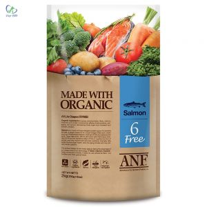 ANF - Thức ăn chó 6 Free vị cá hồi 2kg