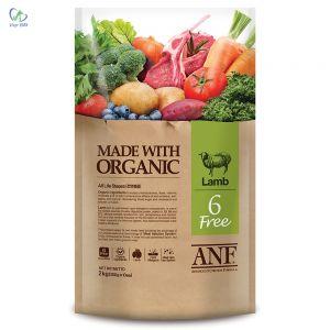 ANF - Thức ăn chó 6 Free vị cừu 2kg