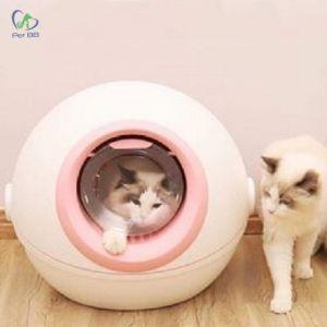 Nhà vệ sinh cao cấp cho mèo hình tàu du hành vũ trụ (Kèm xẻng)