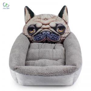 Đệm hình thú Kennel size L - mặt Pug