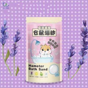 Cát tắm Hamter chuột 500g (Hương lavender/hương phấn)