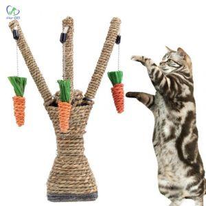 Đồ chơi mèo hình cây cà rốt (33x9)