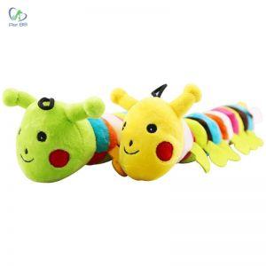 Đồ chơi sâu bướm pet dog toy có âm thanh
