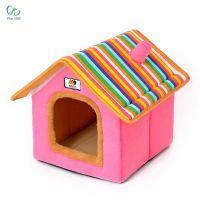 Nhà vải có mái cho chó mèo S