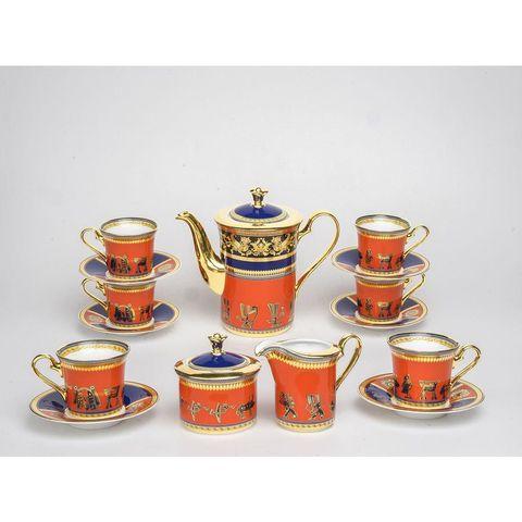Bộ trà 1.25L - Tulip Trắng - Trống Đồng