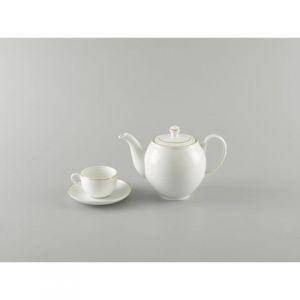 Bộ trà 0.8L - Camellia - Chỉ Vàng