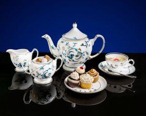 Bộ trà 1.3L - Hoàng cung - Lạc Hồng Vàng