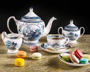 Bộ trà 1.3L - Hoàng cung - Hồn Việt Vàng