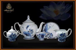 Bộ trà 1.3L - Hoàng cung - Sen Vàng