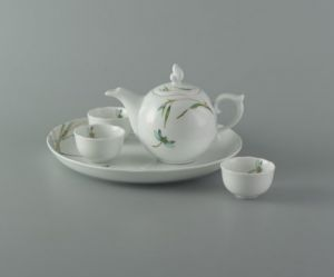 Bộ trà 0.3L - Mẫu Đơn IFP - Thanh Trúc