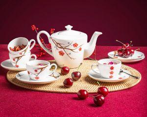 Bộ trà 0.65L - Daisy - Hồng Mai