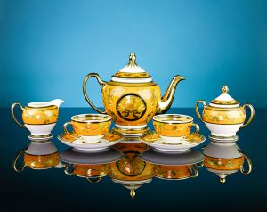 Bộ trà 1.3L - Hoàng cung - Hoàng Bào