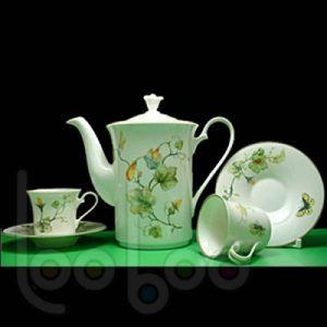 Bộ trà 0.8L - Tulip Ngà - Duyên Quê