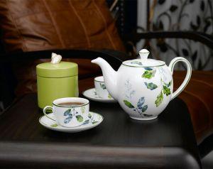 Bộ trà 0.8L - Camellia - Lá Xanh