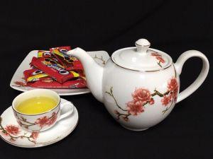 Bộ trà 0.8L - Camellia - Sắc Xuân