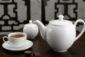 Bộ trà 1,1L - Camellia - Trắng