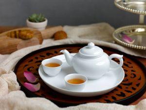 Bộ trà 0.3L - Jasmine - Trắng