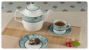 Bộ trà 0.7L - Jasmine - Vinh Quy Nhạt
